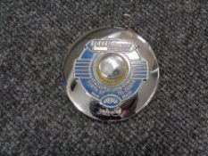 A vintage motor car badge - R H Patterson Ford Newcastle upon Tyne