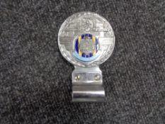 A vintage motor car badge - Royal Army service corp
