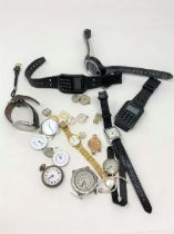 Assorted wristwatches,