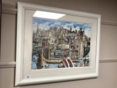 After Martin Stuart Moore : Memories of Newcastle upon Tyne, limited edition colour print from 950,