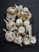 Approximately 60 pieces of Royal Albert Country Roses to include tea china, dinner ware,