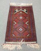 A prayer rug, Iranian/Afghan Frontier,