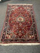 A fine Bidjar rug, Iranian Kurdistan,