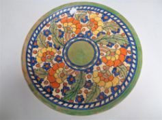 A Crown Ducal Charlotte Rhead charger,