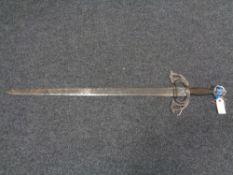 A replica sword
