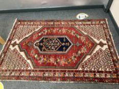 An antique Mazlaghan rug, Iranian Kurdistan,