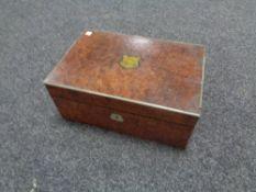 A nineteenth century writing box