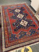An Afshar rug, South East Iran,