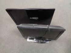 A Grundig 26'' LCD TV with remote together with Samsung 32'' LCD TV (continental wiring).