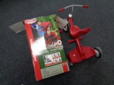 A Radio Flyer stroller/tricycle