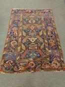 A Caucasian Shirvan rug,