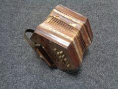 An antique squeeze box
