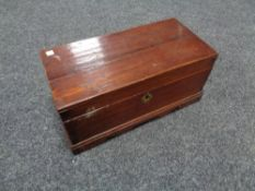 A George III table box