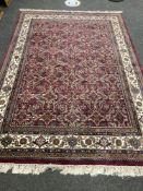 A Tabriz carpet, Iranian Azerbaijan,