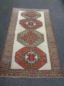 A Caucasian rug,