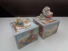 A box of thirty-six John Jenkins Woodland Tales figures (boxed)