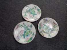 Child's Chinese style plates