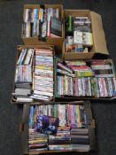 Five boxes of DVD's and box sets