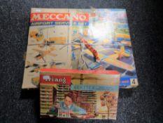 A boxed Meccano Airport Service Set No.