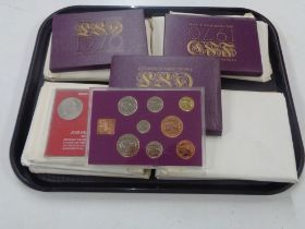 A collection of Coins of Great Britain and other coin sets.