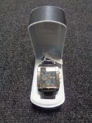 A Lorus gentleman's wristwatch, boxed.