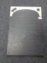 A vintage slate Shove - Ha'penny slate 'The Challenger', 36 cm x 53 cm.