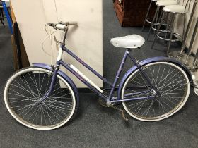"""A Raleigh """"Caprice"""" lady's bicycle."""