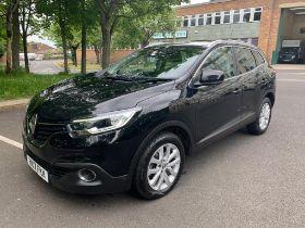 2017 Renault Kadjar Dynamique Nav DCI , Black, 19,963 Miles, Registration HK17 FKN,
