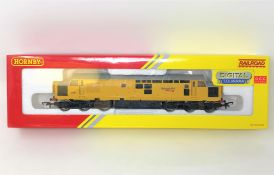 Hornby : R3289 TTS Class 37 Network Rail '97301' with TTS Sound (Decoder Fitted), boxed.