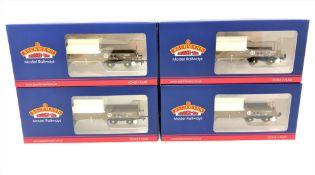 Bachmann : 38-345A FNA Nuclear Flask Wagon Flat Floor 550009, boxed.