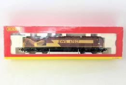 Hornby : R2522 EWS BO-BO Diesel Electric Class 67 Locomotive 67027 Rising Star, boxed.