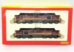 Hornby : R2255 EWS CO-CO Diesel Electric Class 37 Locomotive (Powered) Class 37 Locomotive (Dummy)