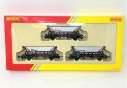 Hornby : R6606 3 EWS MGR Hoppers, boxed.