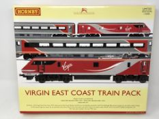 Hornby : R3501 Virgin East Coast Train Pack (Limited Edition), boxed.