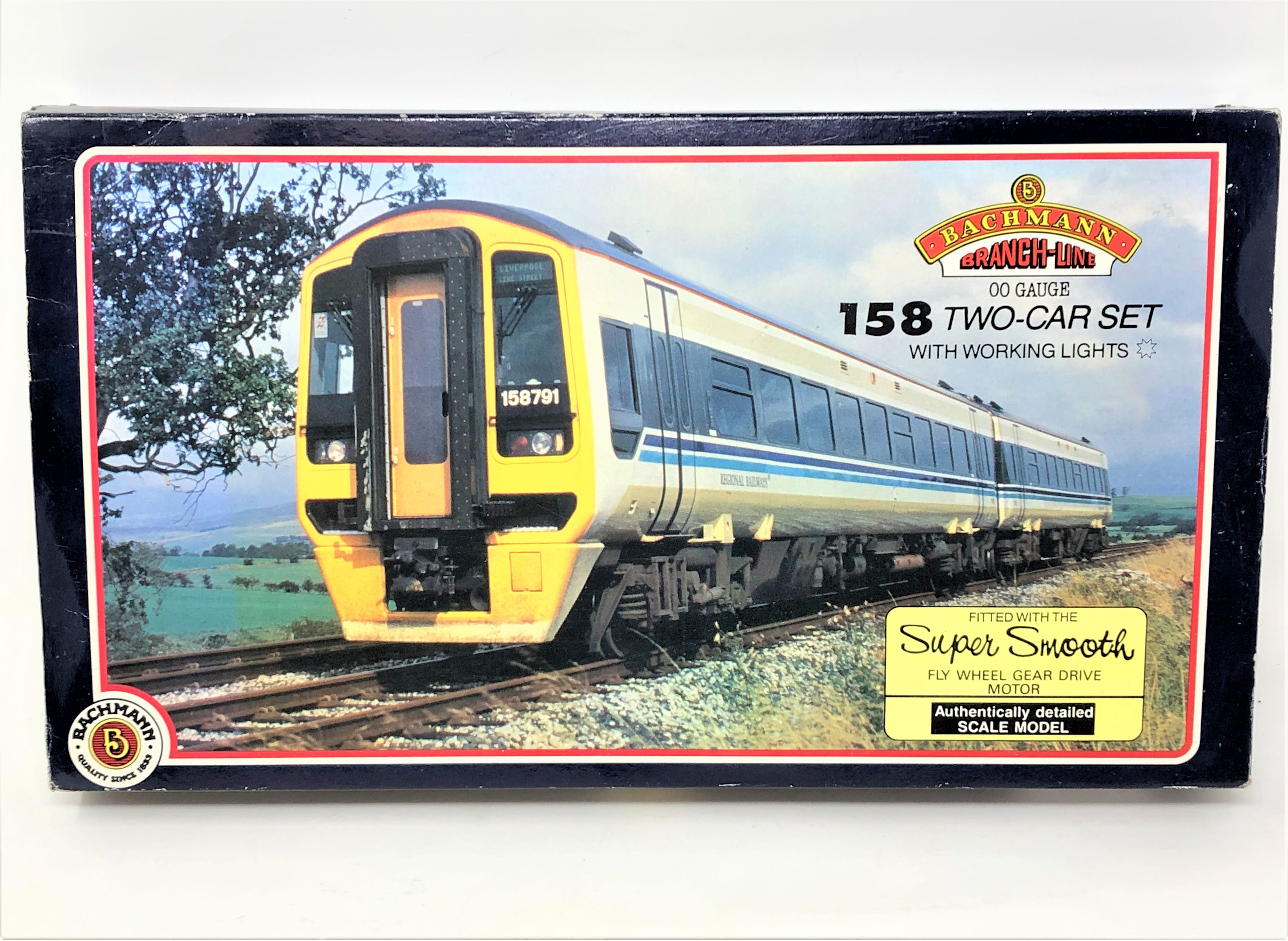 Bachmann : 31-501 158 DMU 2 Car Unit Scot Rail, boxed.