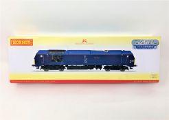 Hornby : R3388 TTS Caledonian Sleeper Class 67 'Cairn Gorn 67004', boxed.