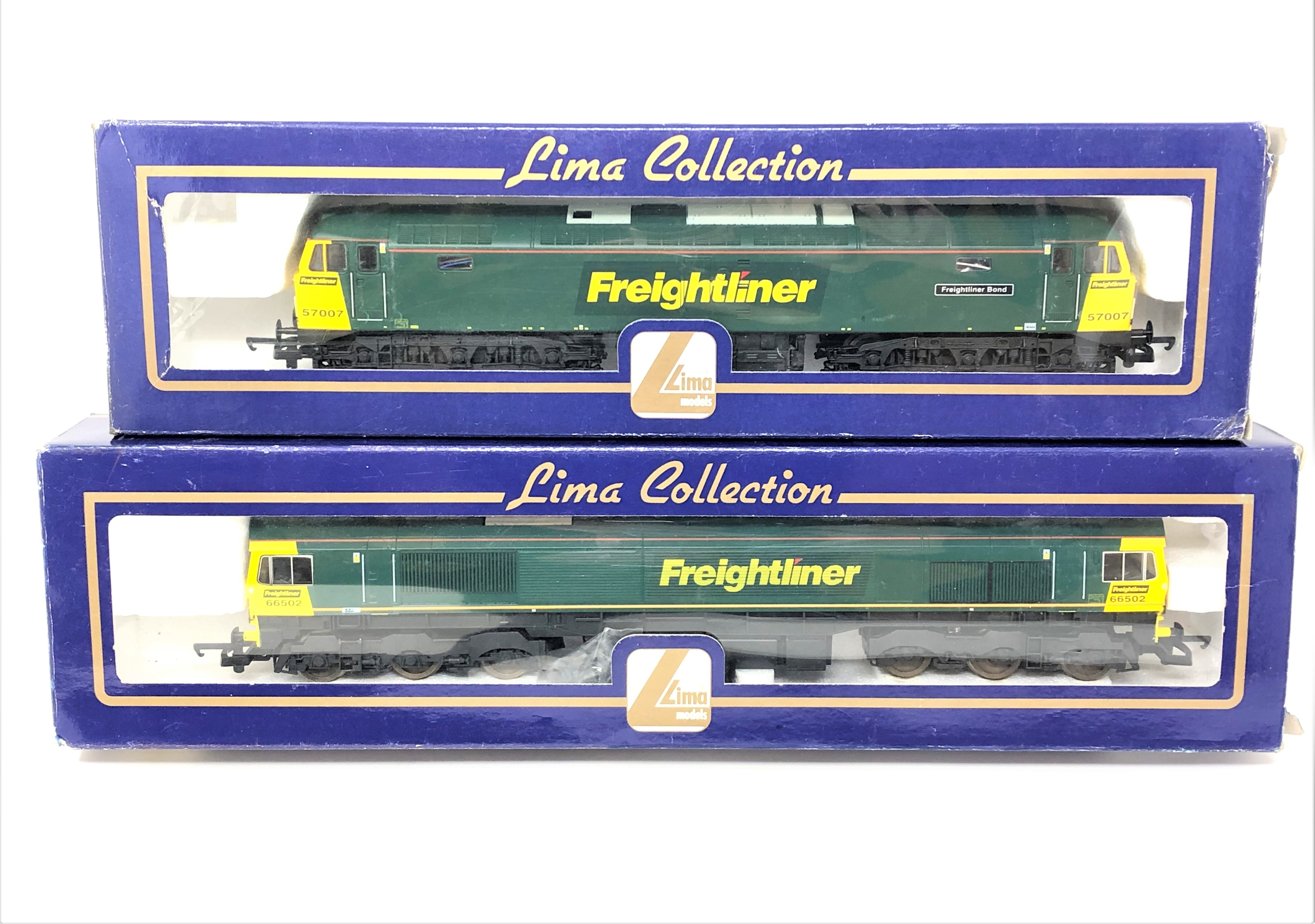 Lima : L205250 Diesel Locomotive Class 57 007 Freightliner Bond 57007,