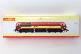 Hornby : R2648 EWS CO-CO Diesel Electric Class 56 '56059', boxed.