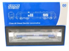 Dapol : Class 68 Diesel Electric Locomotive 68007 'Valiant' Scotrail Livery, boxed.