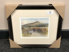 After Tom MacDonald : Roseberry Topping, reproduction in colours, signed in pencil, 13 cm by 18 cm,