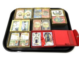 A tray of playing card sets (Qty)
