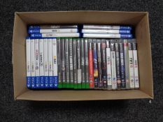 A box containing PlayStation 3,