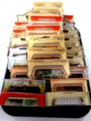 A tray containing approximately 25 die cast vehicles to include Days Gone,