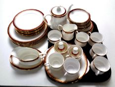 Forty-six pieces of Paragon Holyrood bone china tea and dinner ware