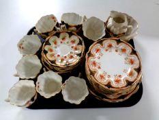 A 39 piece Melba bone china tea service