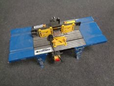 A Workzone router table