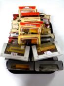 A tray containing 25 die cast vehicles to include Matchbox, Days Gone,