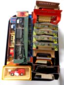A tray containing die cast vehicles to include Darling Buds of May, Days Gone,