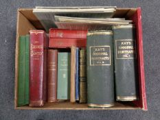 A box containing antiquarian and later volumes to include The Border Country by E.