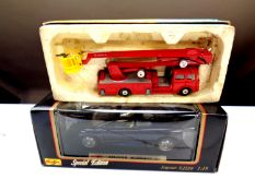 A boxed Corgi 1127 Simon Snorkel Fire Engine,